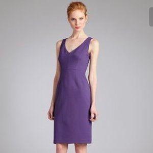 NWT Elie Tahari violet royals camellia dress